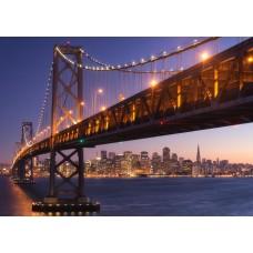 Фотообои PosterMarket WM-04 Мост через бухту Сан-Франциско