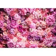 Фотообои PosterMarket WM-30 Розовые цветы