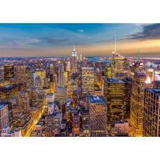Фотообои PosterMarket WM-11NW Закат в Манхэттене