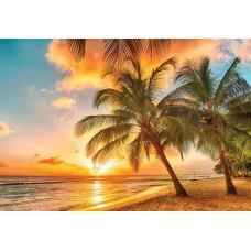 Фотообои PosterMarket WM-56NW Закат на Карибах