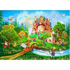Фотообои на бумаге Русские сказки