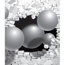 Фотообои на флизелине 2914V8, размер 3.68м*2.54м 4 части