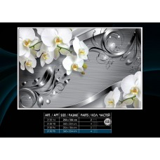 Фотообои на флизелине 2158V8, размер 3.68м*2.54м 4 части