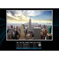 Фотообои на флизелине 2317V8, размер 3.68м*2.54м 4 части